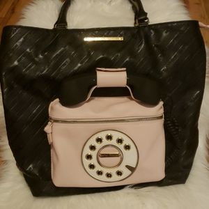 Betsey Johnson Ring Ring Tote Bag